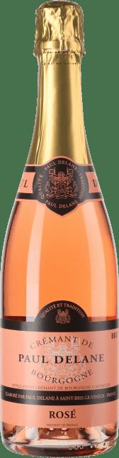 Image of Cave de Bailly Cremant de Bourgogne Rosé Brut Paul Delane Flaschengärung