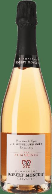 Image of Robert Moncuit Champagne Les Romarines Rose Grand Cru Flaschengärung