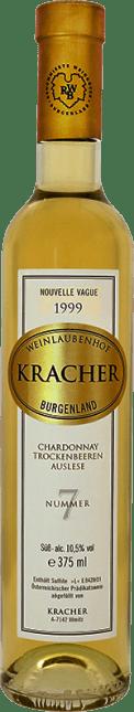 Image of Kracher - Weinlaubenhof Trockenbeerenauslese Chardonnay Nouvelle Vague No. 7 (fruchtsüß) 1999